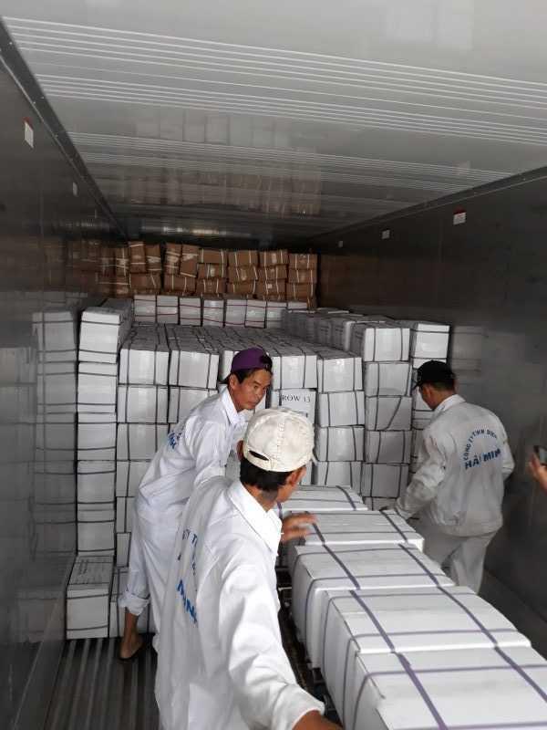 Vietnam seafood exports hit record